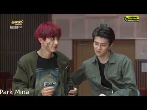 EXO   Sehun with Chanyeol   ChanHun SeChan