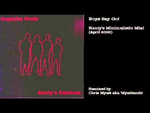 Depeche Mode - Boys Say Go! (Rentys Minimalistic Mix!)