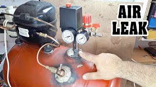 Air Compressor Air Leak Problem / Fixed - Hava kompresörü hava kaçırıyor!!!