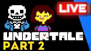 Gem Heads Back Into The Underworld In Part 2 Of Her Undertale Playthrough! | Stream