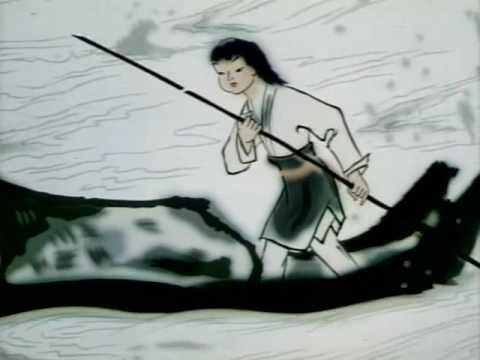 ภาพวาดพู่กันจีน Chinese ink animation