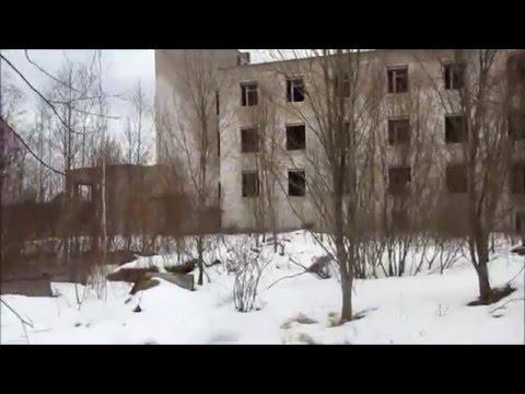 Сталк. Любанская заброшенная больница. ПТУ №54 в Сельцах.