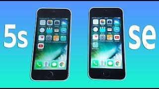 iPhone 5S vs iPhone SE - СРАВНЕНИЕ! СТОИТ ЛИ ПЕРЕПЛАЧИВАТЬ