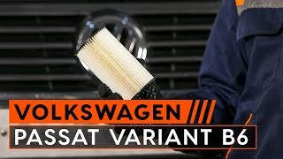 Montare Filtru ulei VW PASSAT: tutorial video