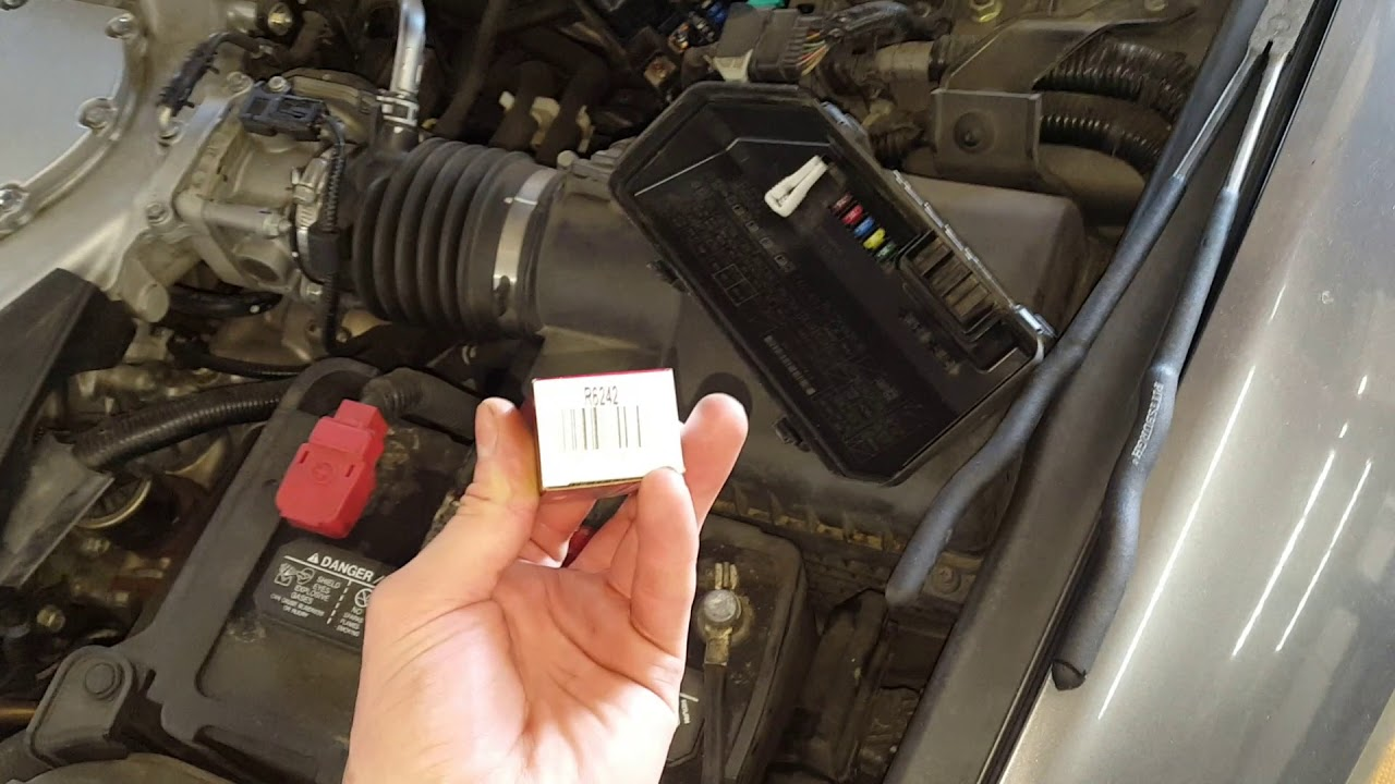 medium resolution of 2009 accord ac relay and fuse how to check youtube 2009 isuzu npr relay 2009 accord