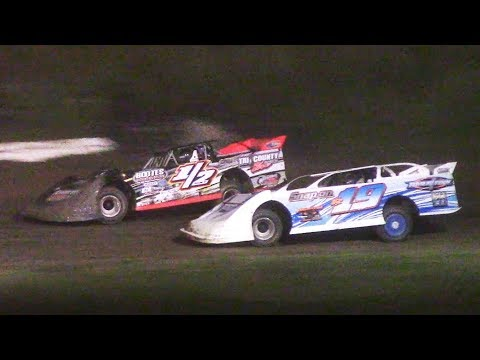Crate Late Model Feature | Genesee Speedway | 6-23-18