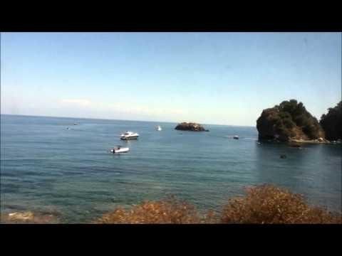 Sicily (train from Catania to Messina)