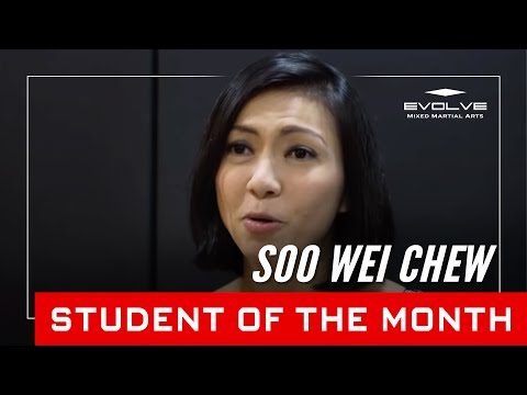 Evolve MMA | Student of the Month: 28 year old Soo Wei Chew