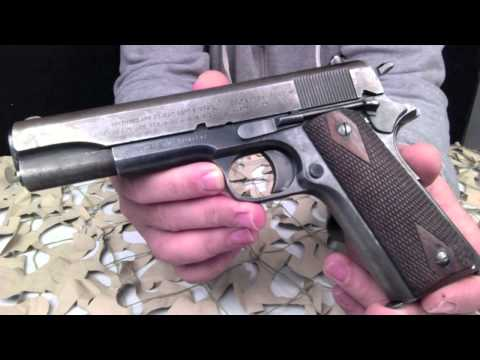 Colt M1911 USGI US Army 45ACP Pistol Overview - Texas Gun Blog