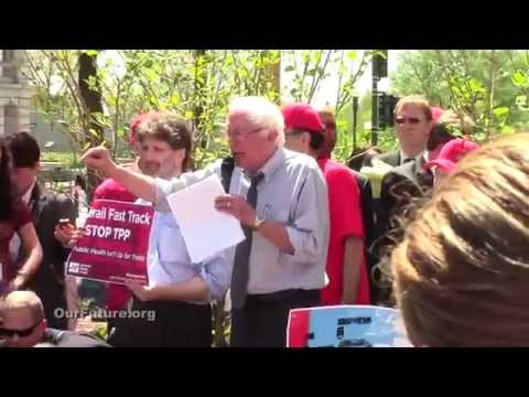 Populism2015 Rally Against Trans-Pacific Partnership