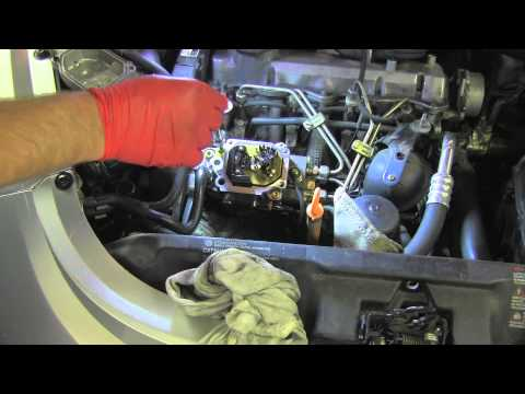 TDI Injection Pump Replacing Gaskets - YouTube