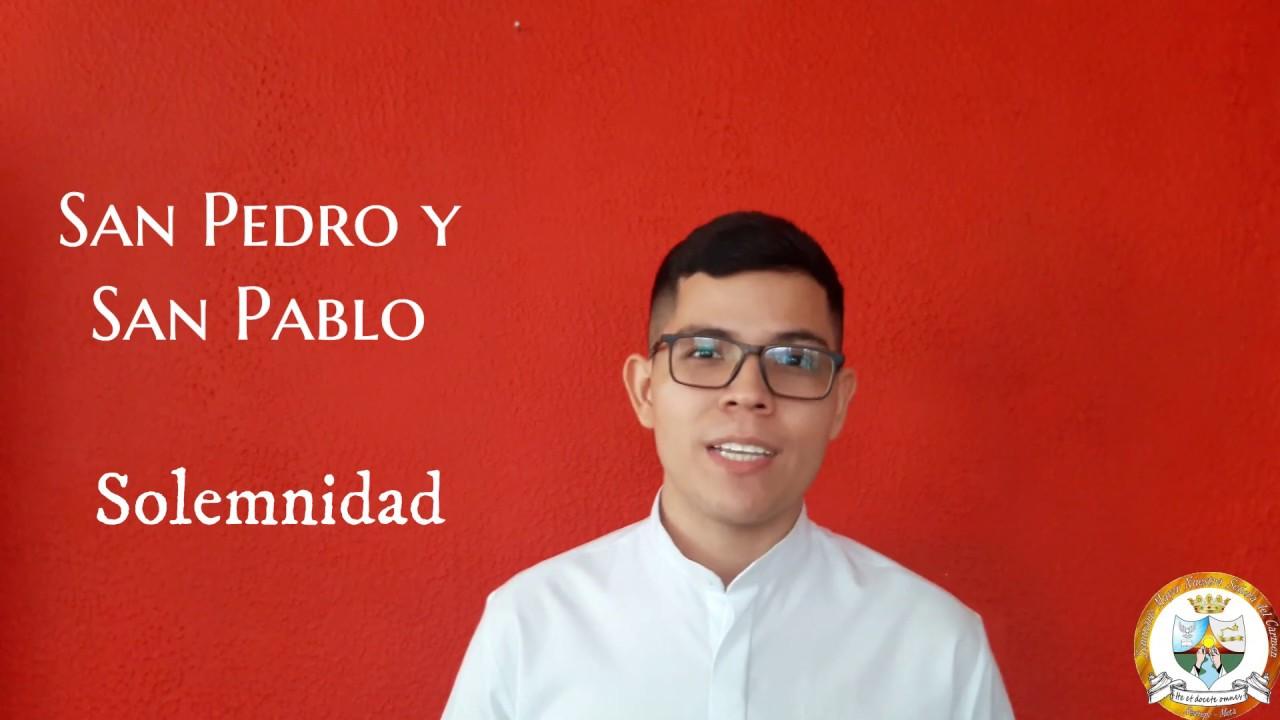 """Tú eres Pedro y sobre esta piedra edificaré mi Iglesia"" - Sem. Ronaldo González"