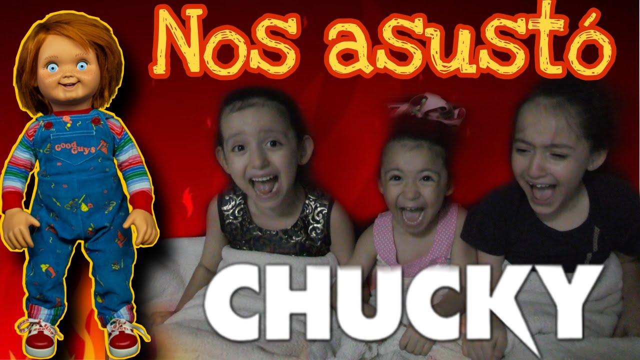 NOS ASUSTO CHUCKY EN LA NOCHE!
