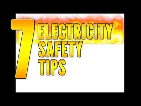 7 Electrical Safety Tips To Think With Youtube