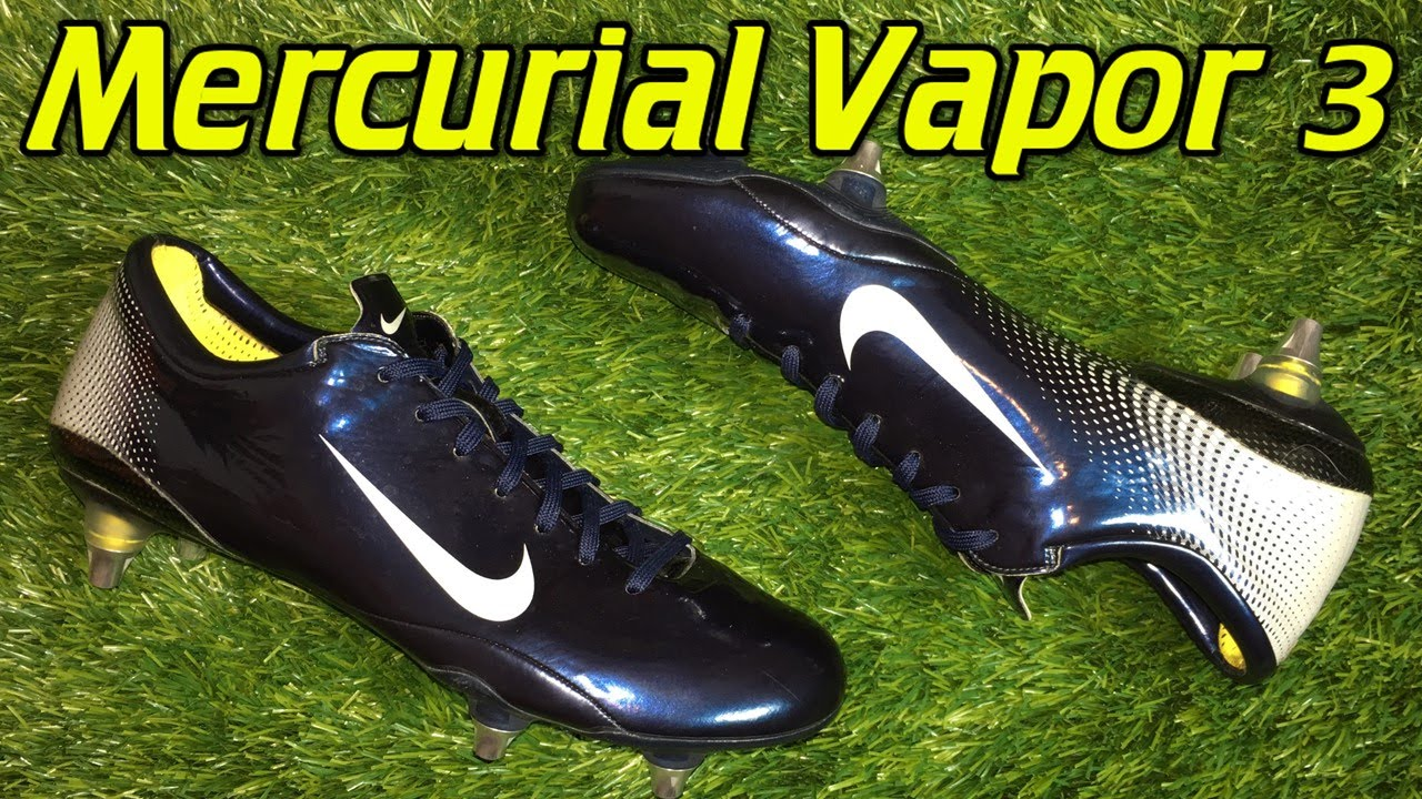 e99eeae2c sweden nike mercurial vapor 3 obsidian blue metallic platinum retro review  on feet youtube 8052c d4fbc