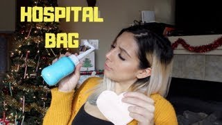 EARLY LABOR! // What's In My Hospital Bag!