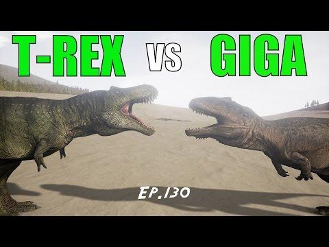 The Isle: T-REX vs GIGANOTOSAURUS {Ep.130}