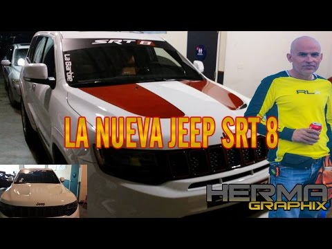 HERMA GRAPHIX - 2017 JEEP SRT 8