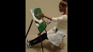 How To Make A Doll Easel