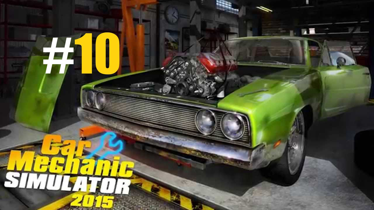 Car mechanic simulator 2015 10 paint shop youtube for Car paint simulator