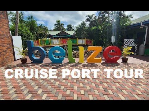 Belize Cruise port tour July 2021 Carnival Vista