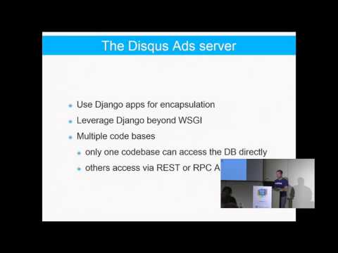 Image from How Disqus is using Django as the basis of our Service ...