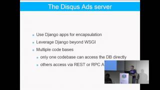 How Disqus is using Django as the basis of our Service ...