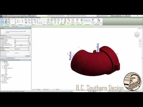Revit: Nesting Couplings into a Victaulic Developed Elbow