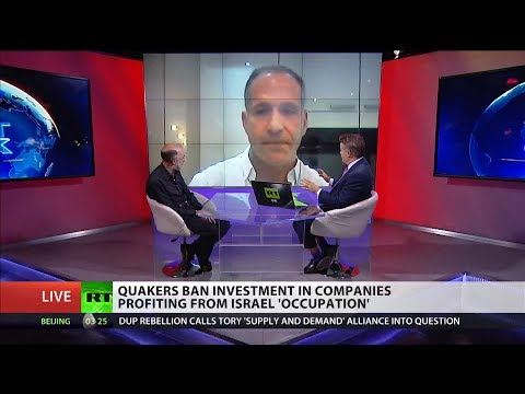 Quakers ban investment in companies profiting from Israel 'occupation' (Debate)