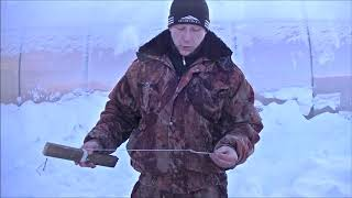 как правильно одеть живца на капкан для ловли  щуки