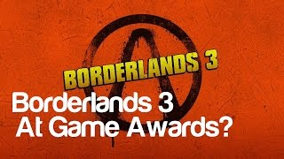 Borderlands 3 Announcement at Game Awards