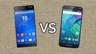 Sony Xperia C5 Ultra vs Moto X Style (2015) - Quick Look