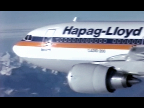 Hapag-Lloyd Airbus A310-200 Travelogue - 1988