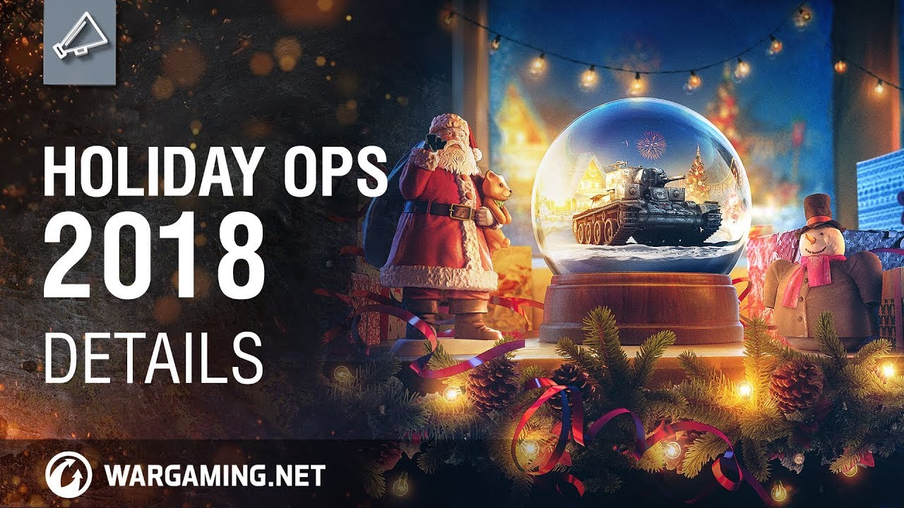 World of Tanks – Holiday Ops