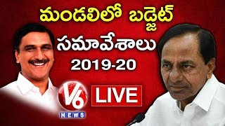 Telangana Legislative Council LIVE | TS Assembly Budget Session 2019 | V6 News
