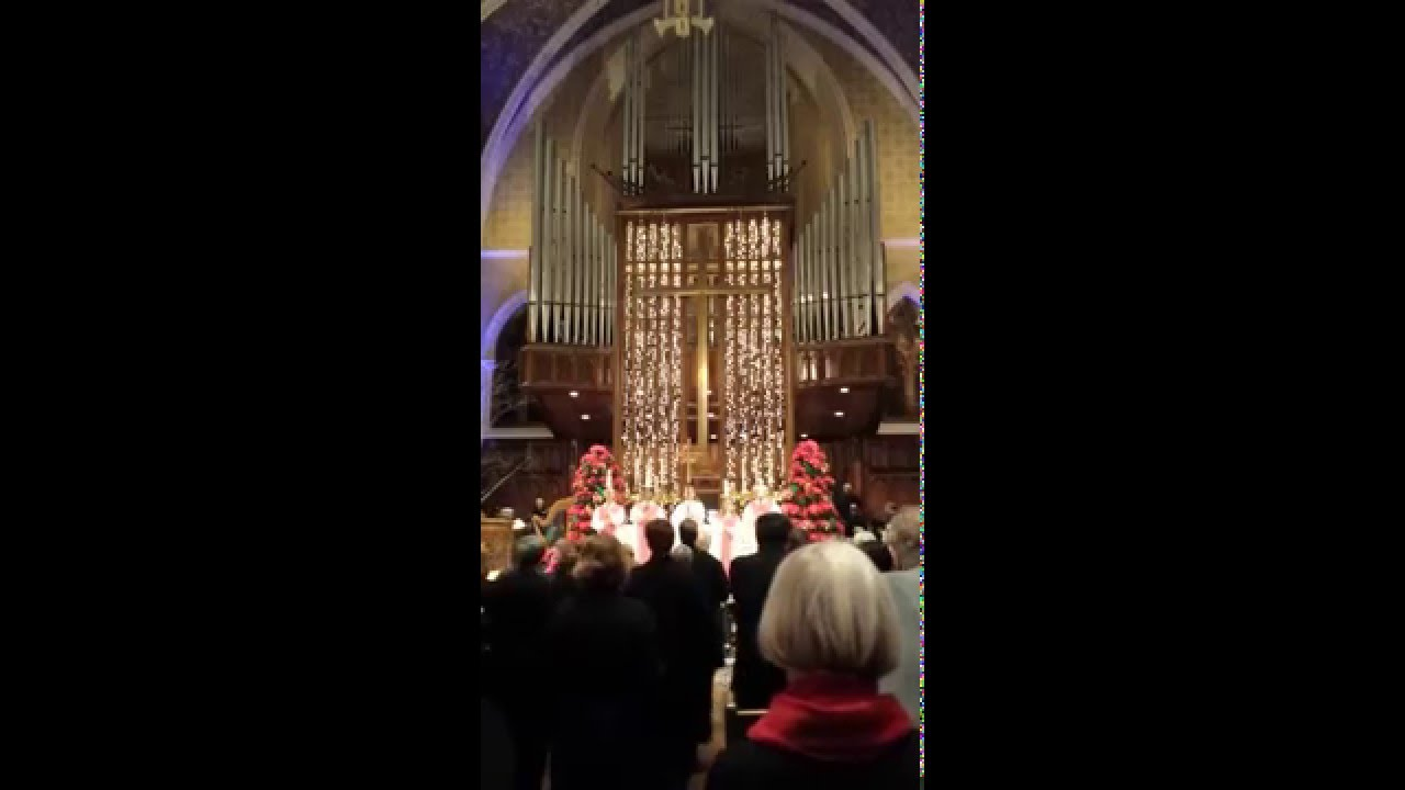 Christmas Eve At Central Lutheran Church Minneapolis Mn Youtube