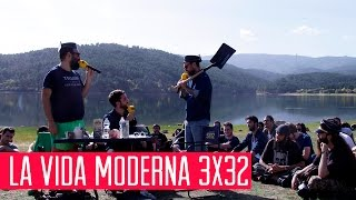 La Vida Moderna 3x32...es que la clave del wifi del Valle de los Caídos sea