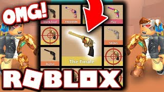 UNBOXING THE BEST GUN IN THIS GAME!! (Roblox)