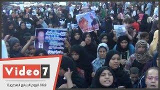 بالفيديو.. مسيرة نسائية تجوب الشوارع للمطالبة بالقصاص لقتيل قسم إمبابة