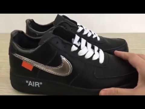 """OFF WHITE x Nike Air Force 1 Air Force 1  07 """"Virgil x MOMA"""" AV5210 ... 78c417d83"""