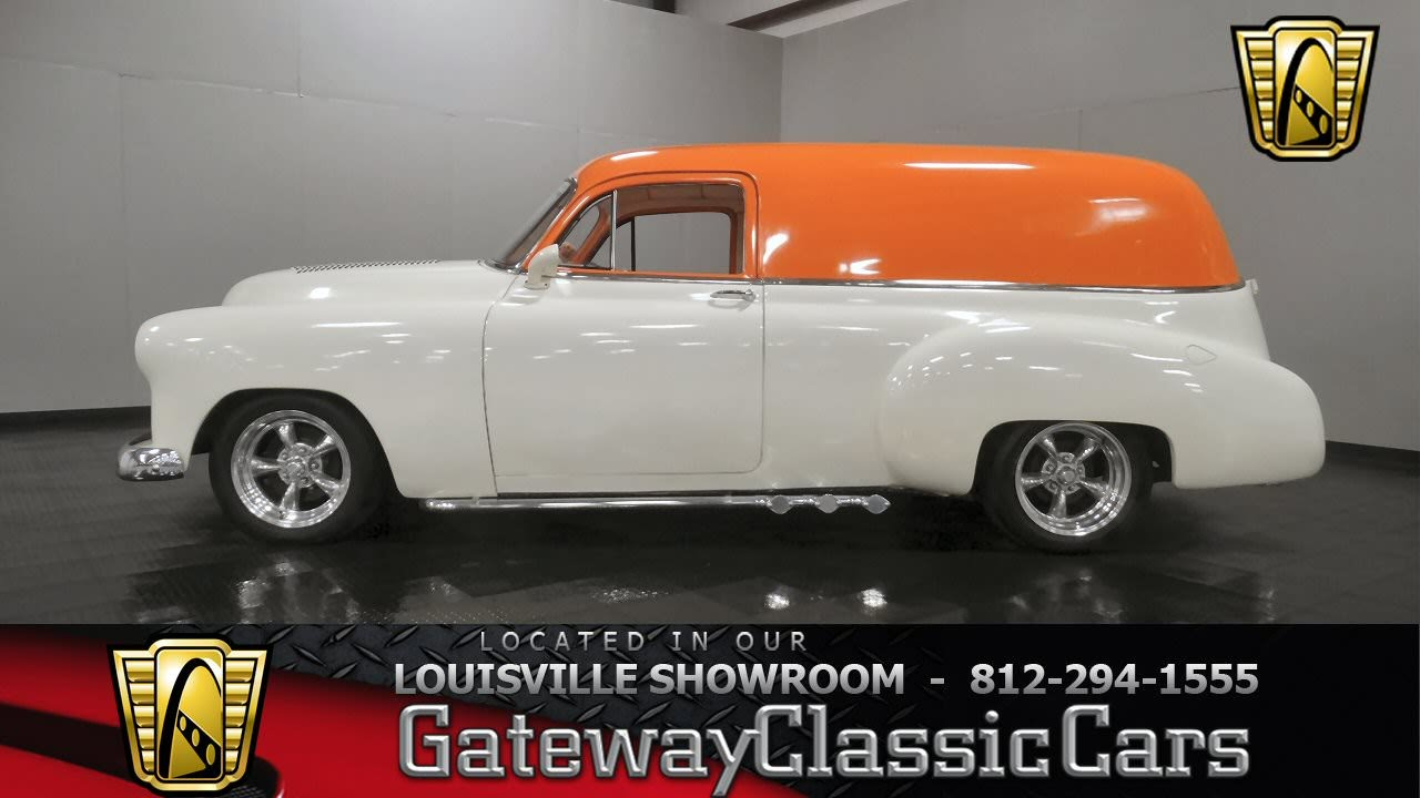 Ford Louisville Ky >> 1952 Chevrolet Sedan Delivery - Louisville Showroom ...