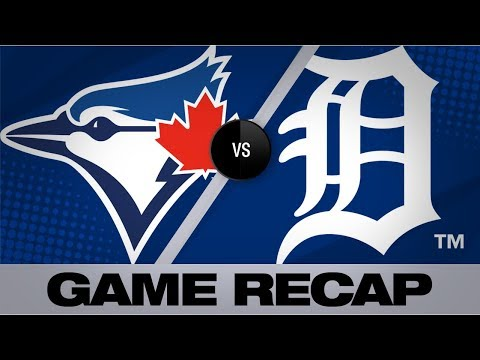 Castellanos' homer lifts Tigers in 4-3 win | Blue Jays-Tigers Game Highlights 7/21/19