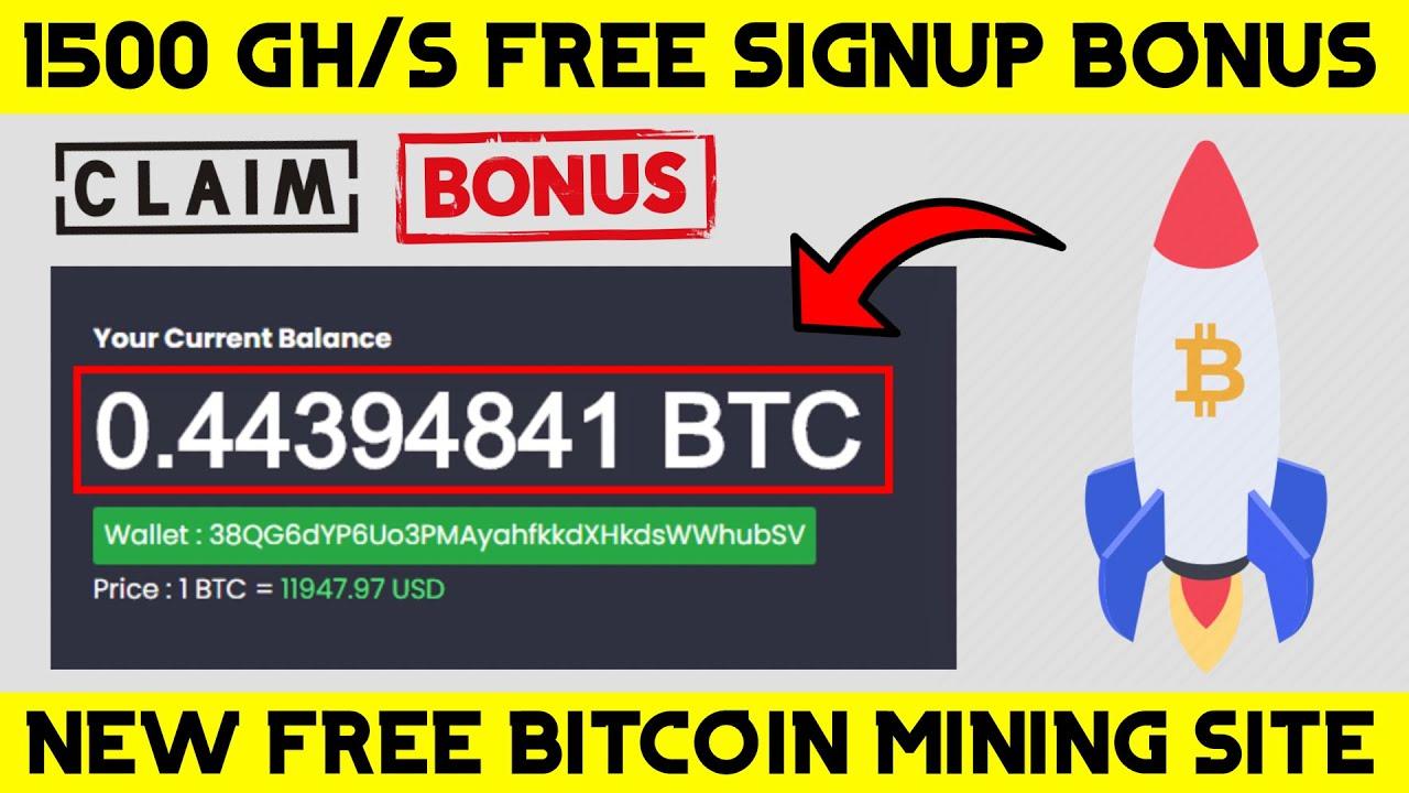 New Btc Mining Site New Free Bitcoin Cloud Mining Site Free Btc Miner New Btc Earning Site Youtube