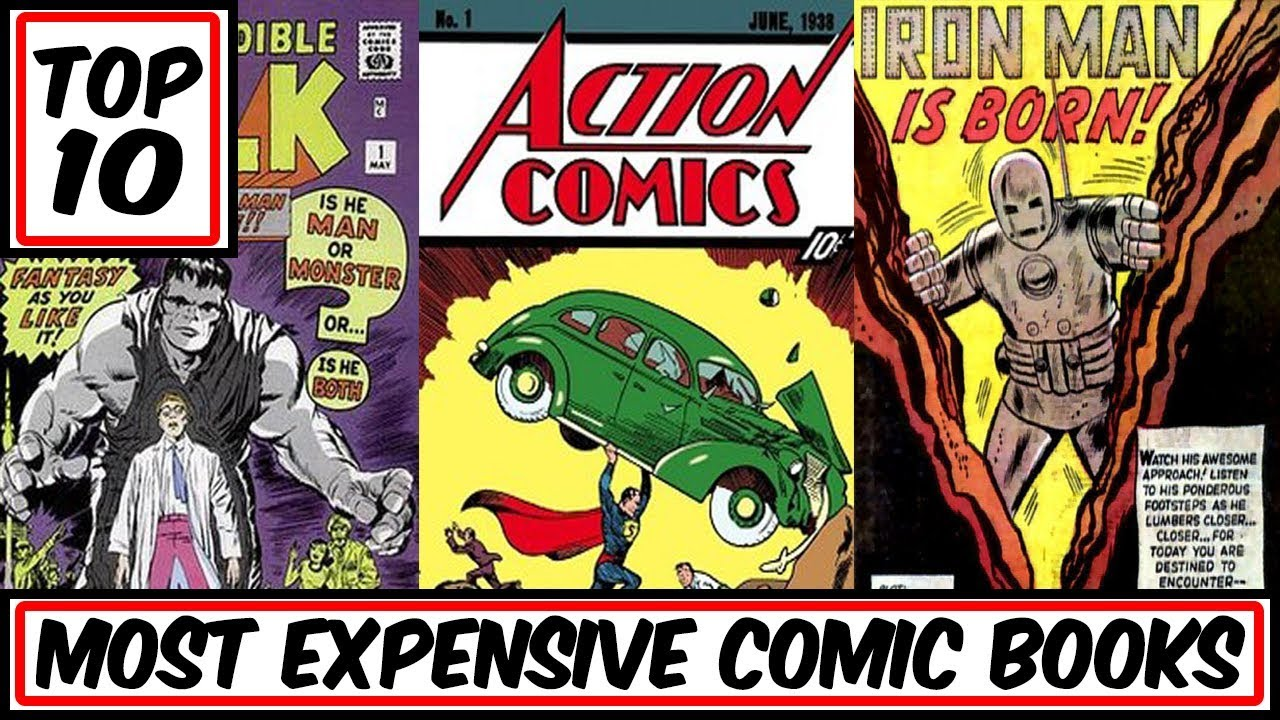 Top 10 Most Expensive Comic Books Ever Sold Youtube