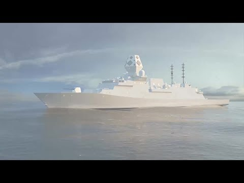 BAE Systems - Type 26 Global Combat Ship for Australia Simulation [1080p]
