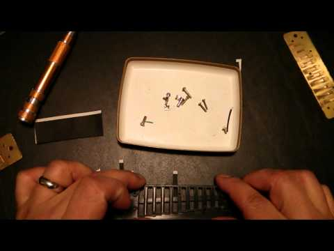 How to make your own harmonica valves at home easily, cheaply, and effectively