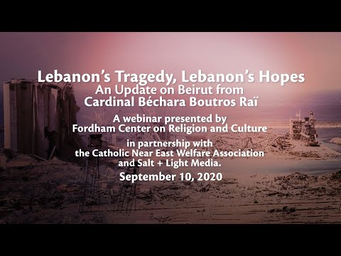Lebanon's Tragedy, Lebanon's Hopes: An Update on Beirut from