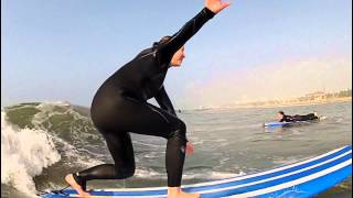 Au Pair Winter Surf Session