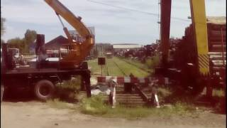 Ремонт козлового кран(Этот ролик обработан в Видеоредакторе YouTube (http://www.youtube.com/editor), 2016-07-02T12:16:00.000Z)