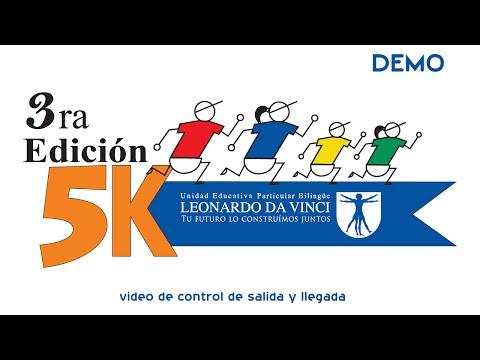 3ra Edicion Leonardo Da Vinci (Video DEMO de Control)